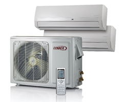Ductless wall system